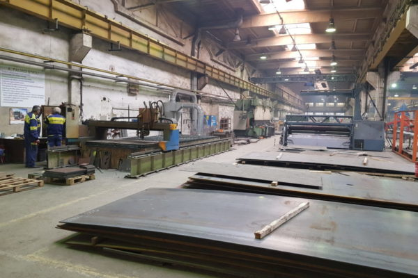 výroba oceľových konštrukcií