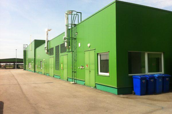 recyklačná montovaná hala