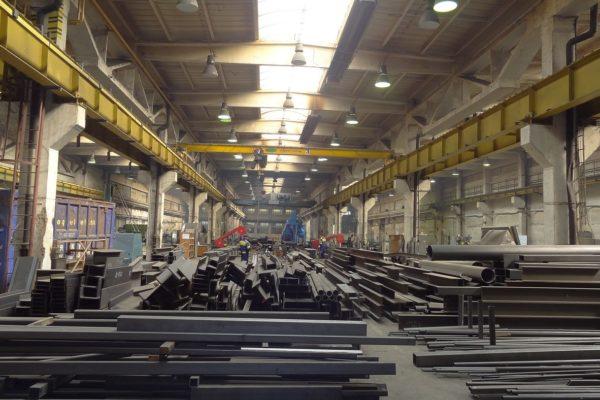 výroba oceľovych konštrukcií