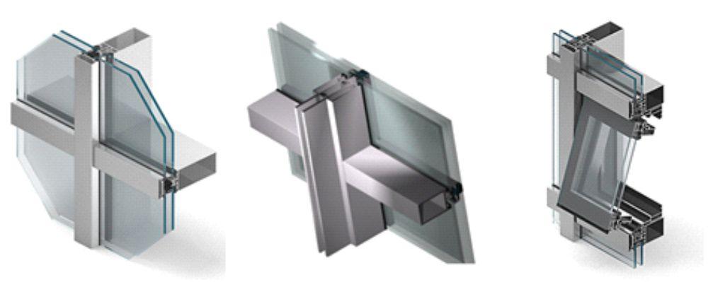 detail uchytenia skla