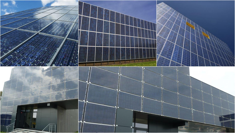 fotovoltaicka fasáda