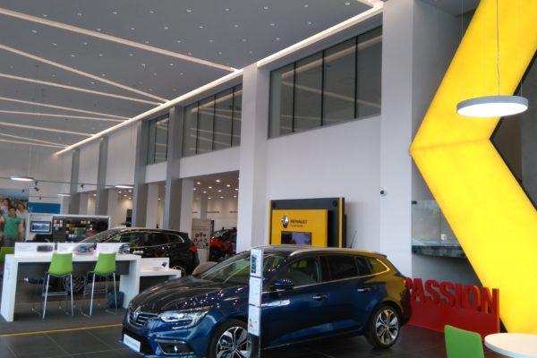 autosalón Renault Dacia Praha