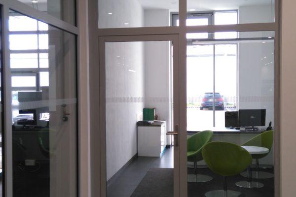 hliníkové dvere Renault Dacia Praha