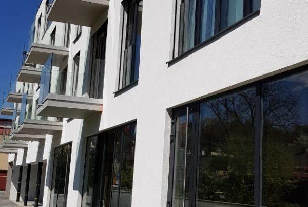 presklená fasáda bytový dom BB