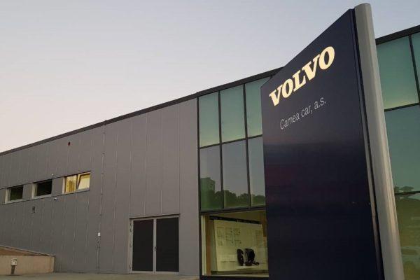 Autosalón Volvo