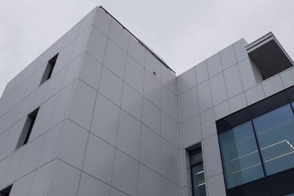 kazetové fasády