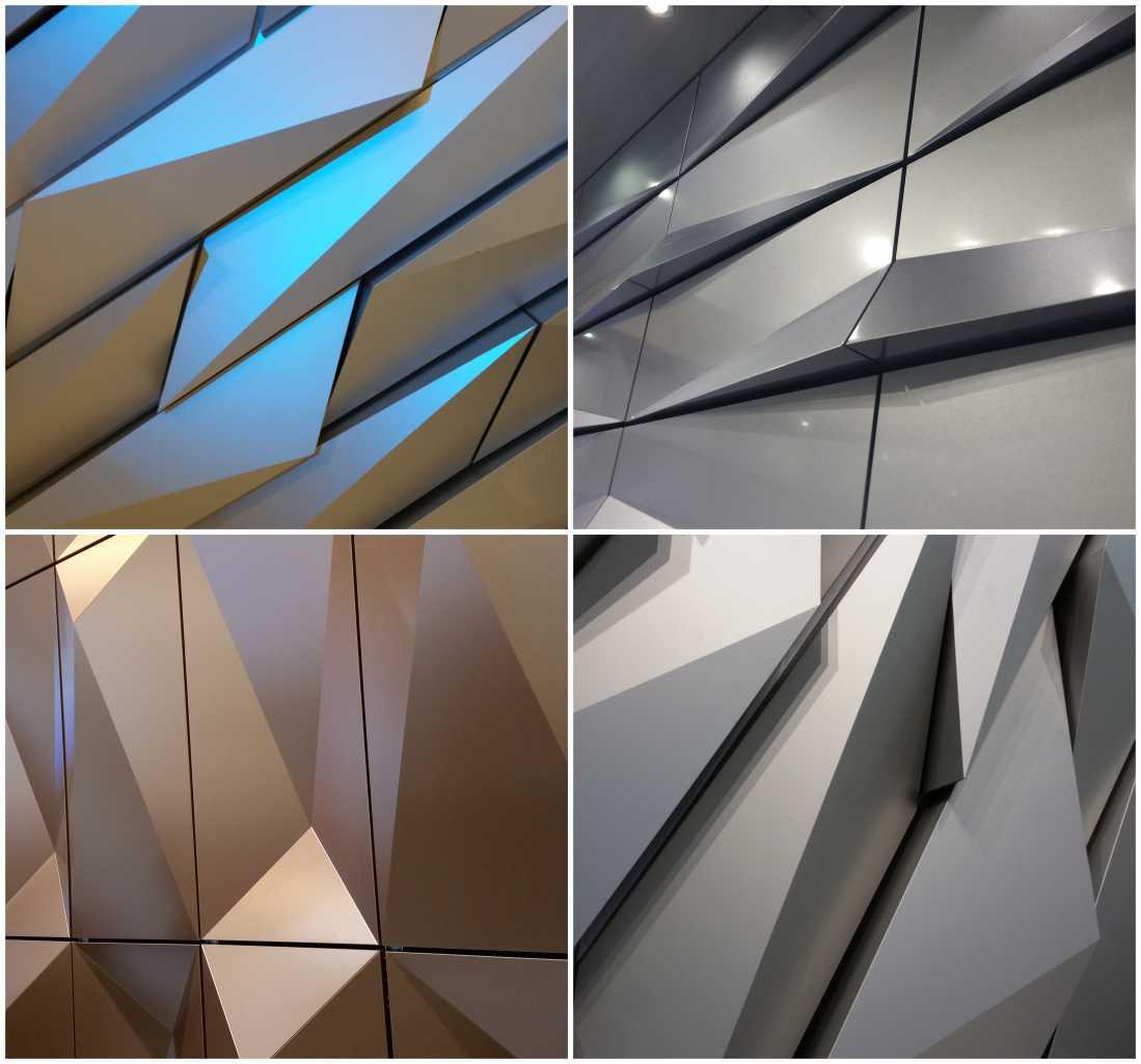 odvetrané hliníkové fasády