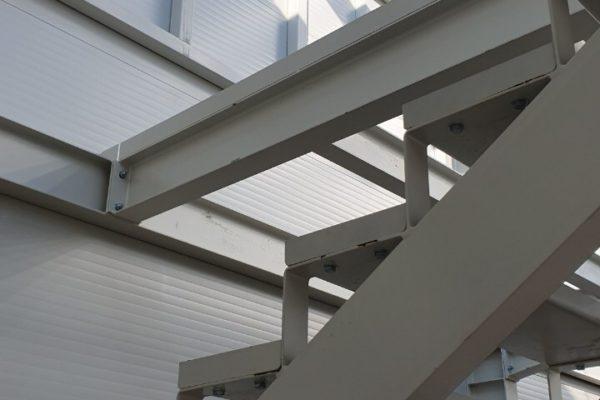 oceľová konštrukcia detail