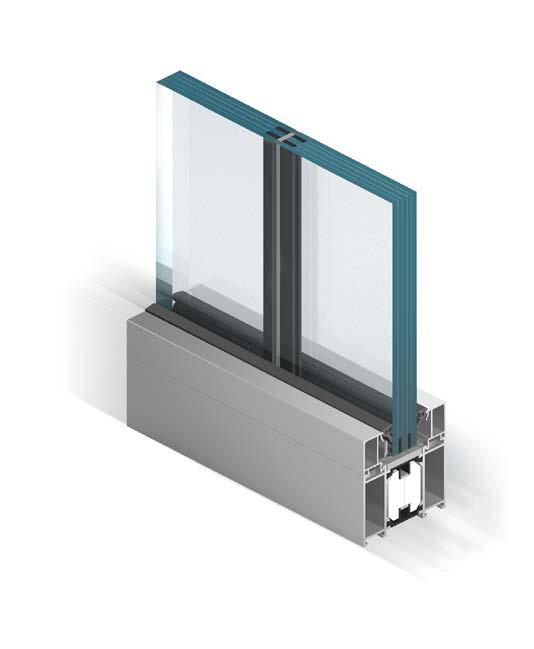 presklené systémy interiérových sien