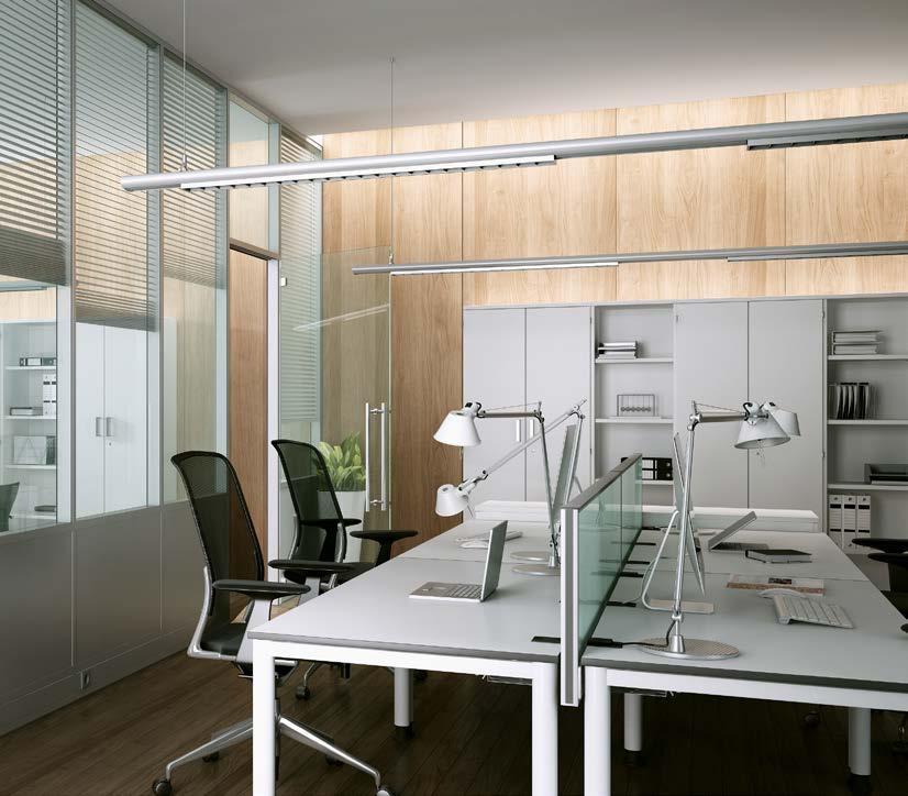 presklené interiérové systémy akustické priečky
