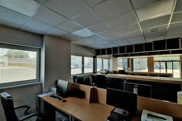 oceľová montovaná hala kancelárie (2)