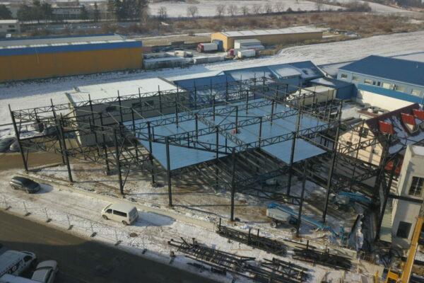 ocelova konstrukcia obchodneho centra